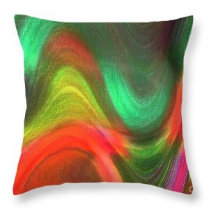 Art On Throw Pillows